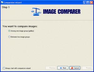 Image Comparer - náhled