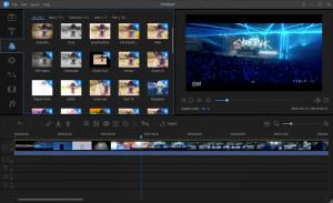 EaseUS Video Editor - náhled