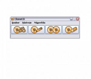 CloneCD - náhled