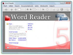 Word Reader - náhled