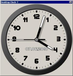 Desktop Clock-7 - náhled