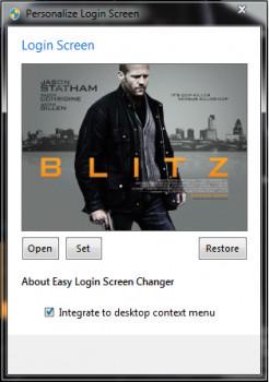 Easy Login Screen Changer - náhled