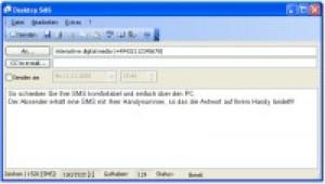 Desktop SMS - náhled