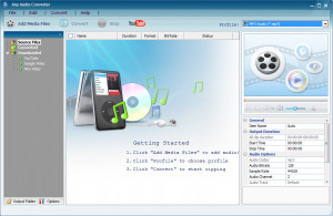 Any Audio Converter - náhled