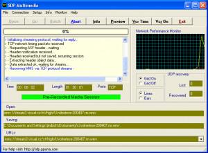SDP Downloader - náhled
