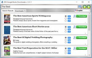 EDS Google Books Downloader - náhled