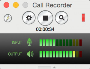 Call Recorder - náhled