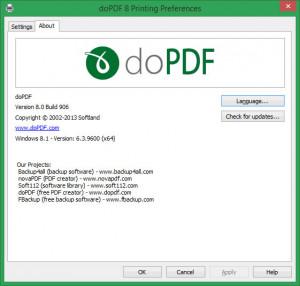 doPDF - náhled