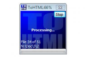 Atrise ToHTML - náhled
