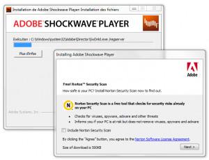 Shockwave Player - náhled