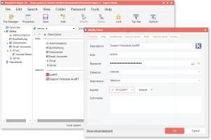 Password Depot - náhled