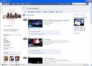 Facebook Browser - náhled