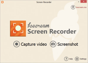 IceCream Screen Recorder - náhled