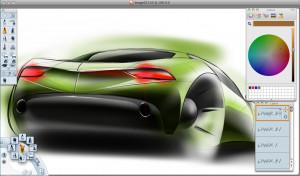 Autodesk SketchBook - náhled