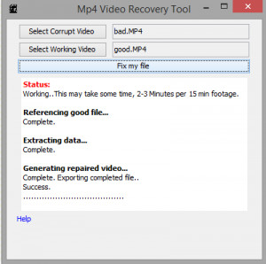 Mp4 Video Repair Tool - náhled