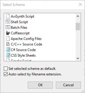 Notepad3 - náhled