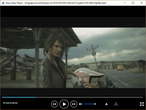 Wise Video Player - náhled