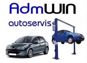 Program autoservis + AdmWin DE - náhled