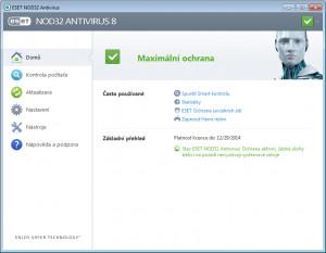 ESET NOD32 Antivirus - náhled