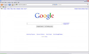 Columbus Browser - náhled