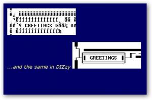 DIZzy - náhled
