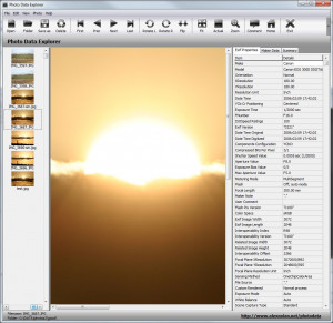 Photo Data Explorer - náhled
