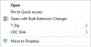 Bulk Extension Changer - náhled