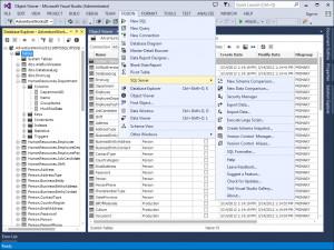 dbForge Fusion for SQL Server - náhled