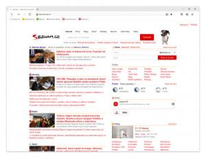 Domovská stránka - náhled