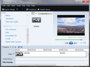 Windows Movie Maker Installer - náhled