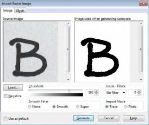 Font Creator - náhled