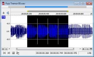Sound Forge Audio Studio - náhled