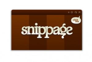 Snippage - náhled
