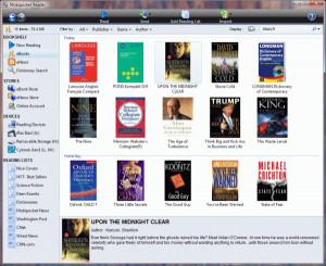 Mobipocket Reader - náhled