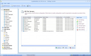LepideAuditor for File Server - náhled