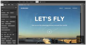 Pinegrow Web Designer - náhled