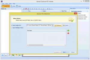 Kernel Outlook PST Viewer - náhled