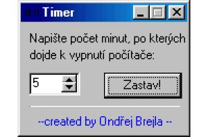 Timer - náhled