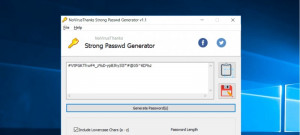 Strong Passwd Generator - náhled