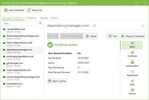 Certify The Web - náhled