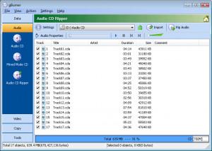 gBurner Virtual Drive - náhled