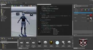 Xenko Game Studio - náhled