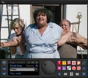 NetTVPlayer - náhled