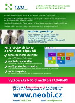 NEO business intelligence - náhled