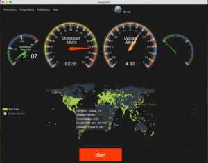 SpeedTest  - náhled