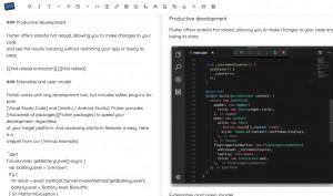Markdown Editor - náhled