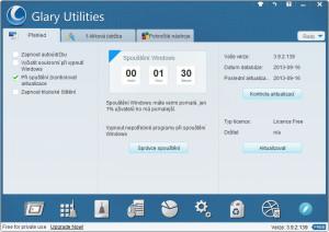 Glary Utilities - náhled