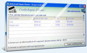 Credit Repair Planner - náhled