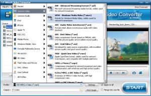 iWisoft Free Video Converter - náhled