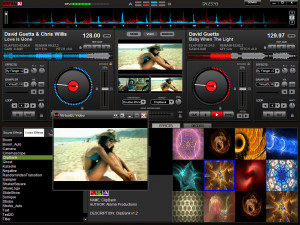 Virtual DJ - náhled